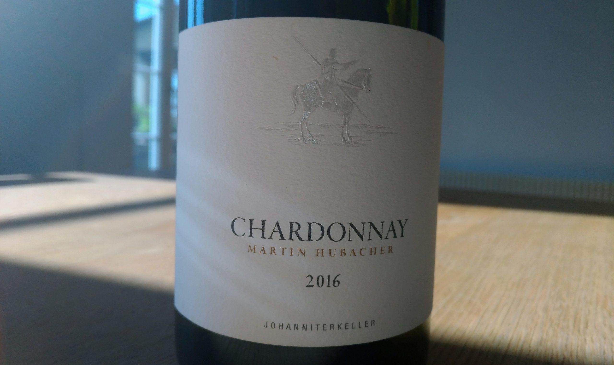 Chardonnay 2016 Martin Hubacher
