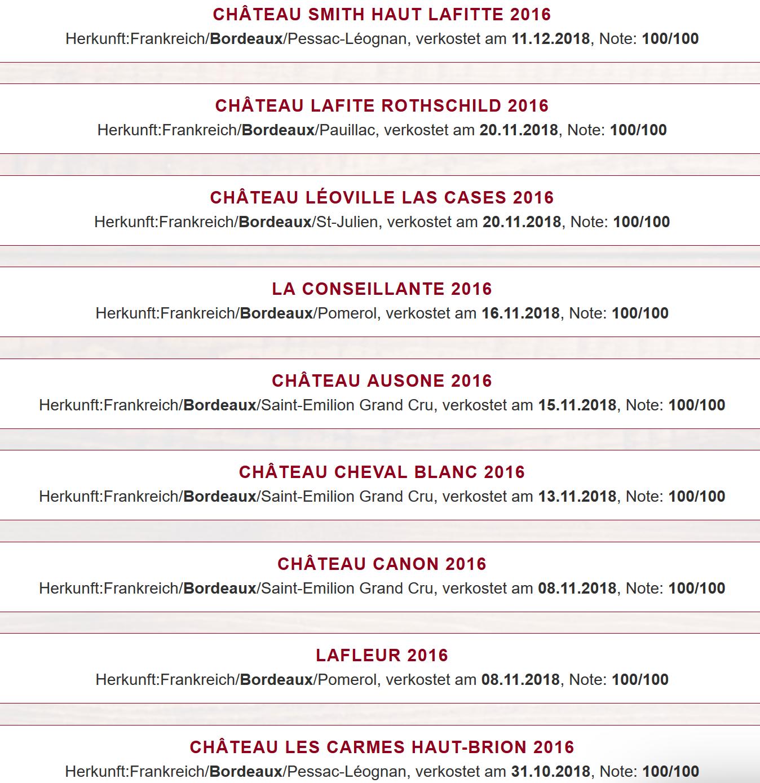 Arrivage Bordeaux