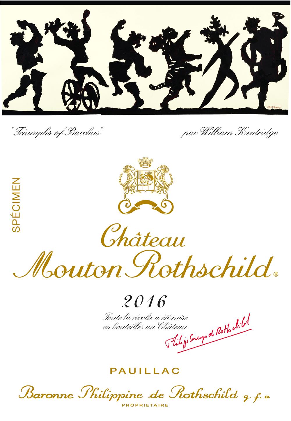 Mouton Rothschild 2016