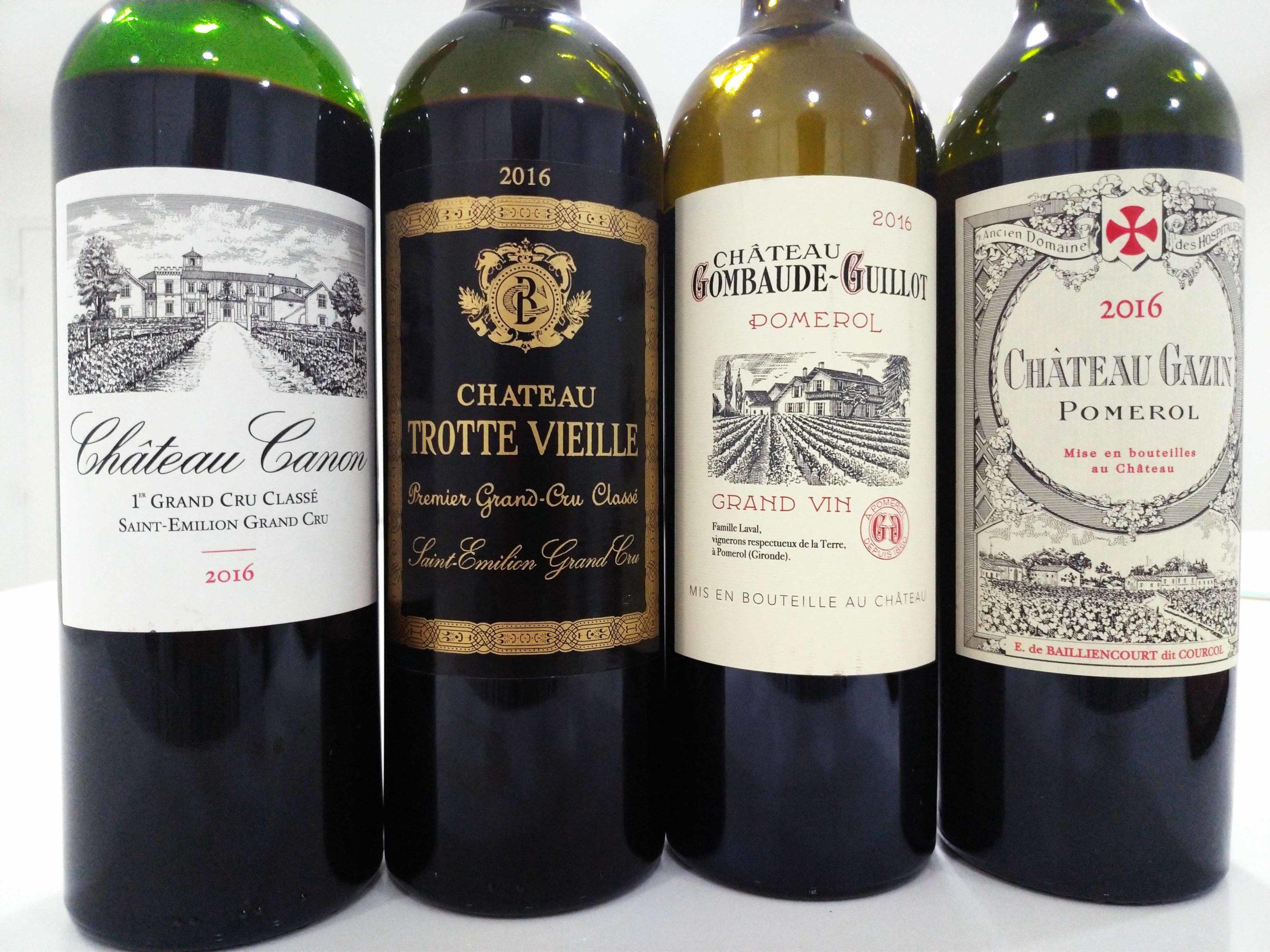 Bordeaux Arrivages 2016