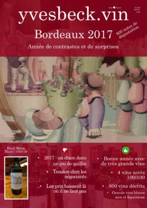 Bordeaux 2017 - les livrables