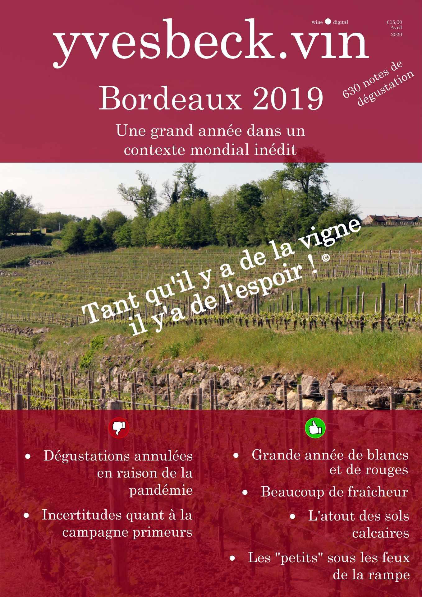 Primeurs Bordeaux 2019
