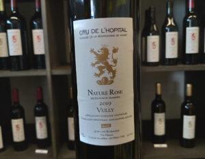 Naturé rose - vin nature - Cru de l'Hôpital