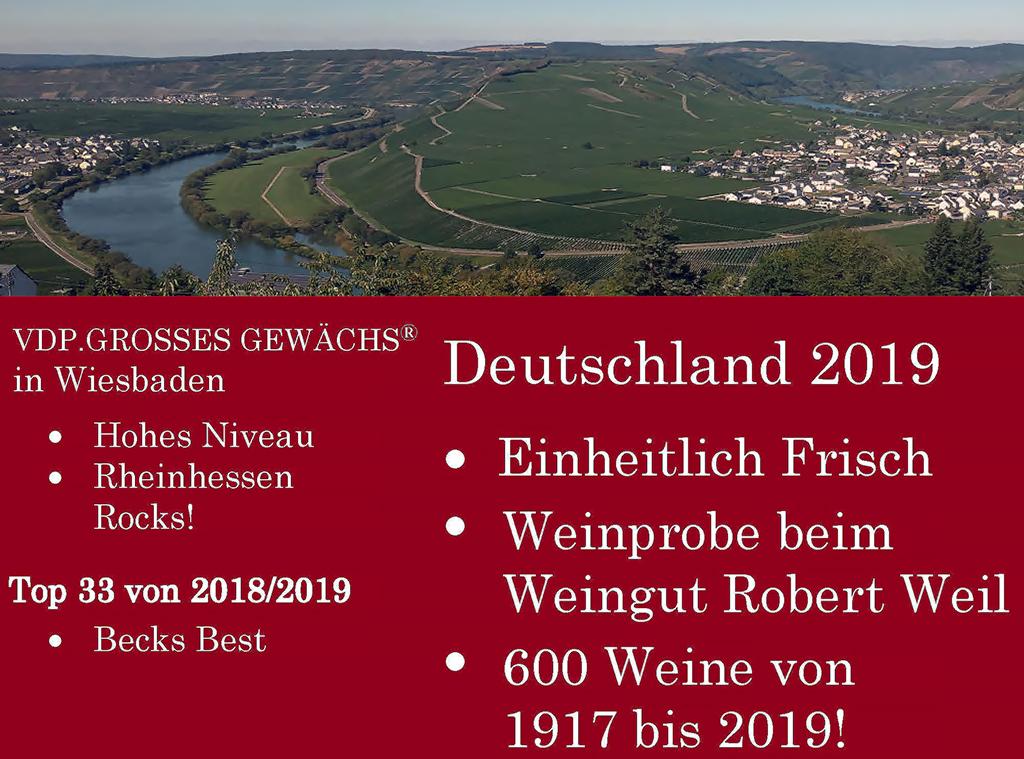 Deutschland Wein Tour 2020